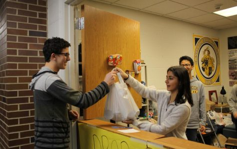 The extra step: food drive cans numerical goals
