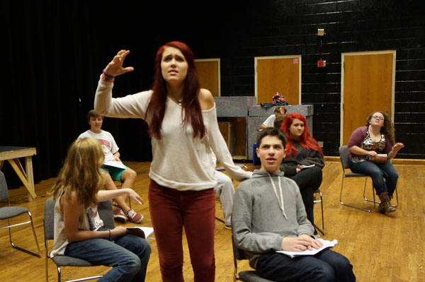Fall play puts new spin on age-old themes