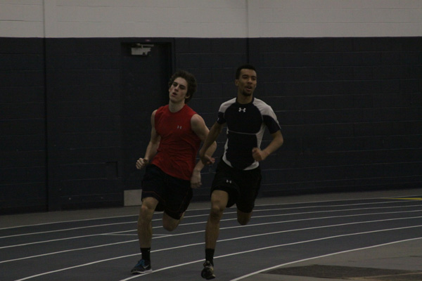 Titan track succeeds early with depth in sprinters, youth