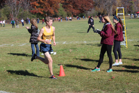 Captain Westerfield leads South cross country, track teams