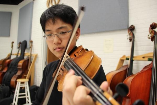 Ahn takes a bow, named ILMEA concertmaster