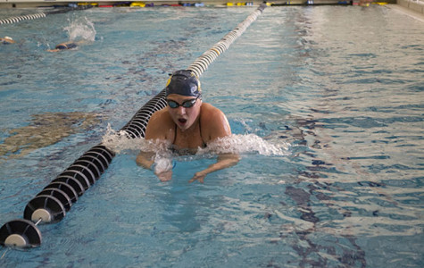 Women's swim team has faced tough competition this season, hopes to do well at State