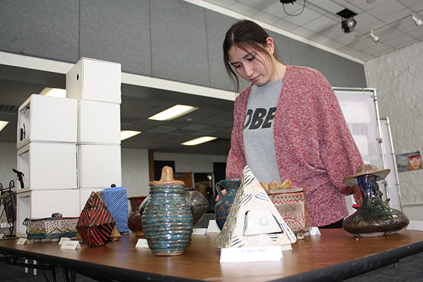Art exhibit showcases students' diverse, unique talents