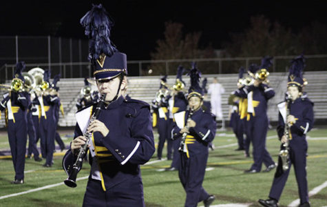Marching band season ends with a first place win