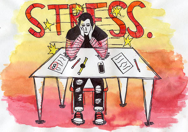 Overwhelm of student stress calls for relief
