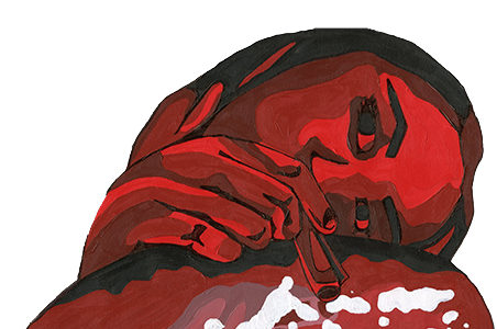 Between the white lines: cocaine trickles down from college life