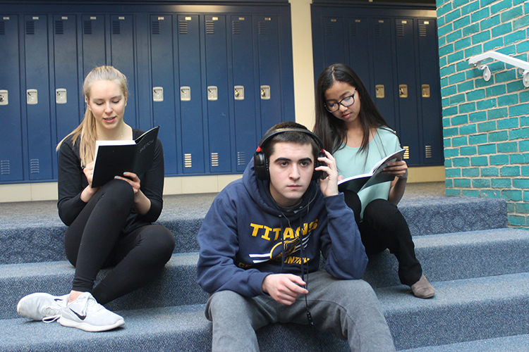 South students utilize various outlets of stress relief