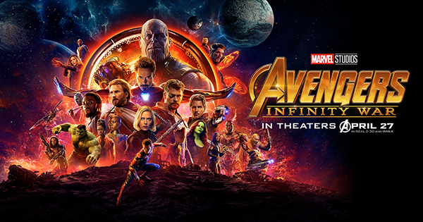 AVENGERS IN ACTION:   Preparing for battle, the Avengers and their companions pose for the promotional cover of Marvel's Avenger's: Infinity War. Released on April 27, 2018, Infinity War is the third Avengers film in the series and generated $1.607 billion in box office sales.