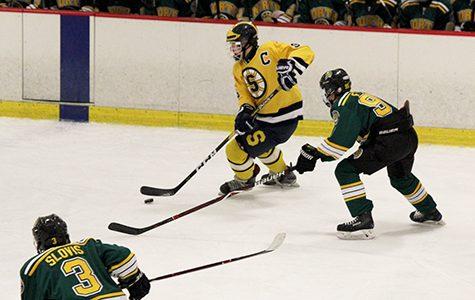 Boys' hockey works to create a strong team bond