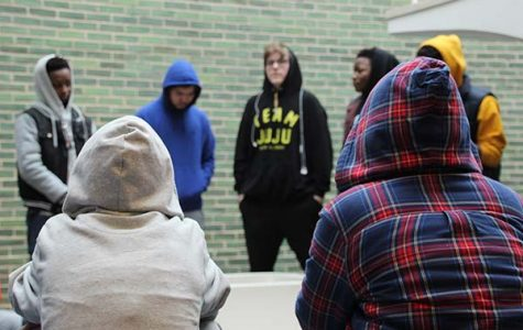 Students walk out in honor of Trayvon Martin