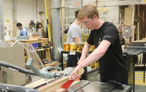 Woodworking class provides real-world applications
