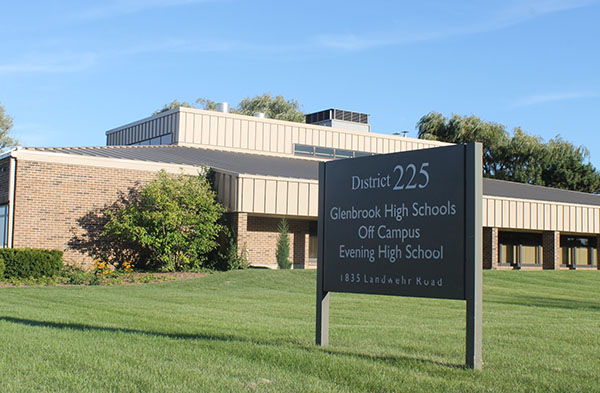 Shutdown school:  Operating since 1973, Glenbrook Evening school is now shutdown due to low enrollment.