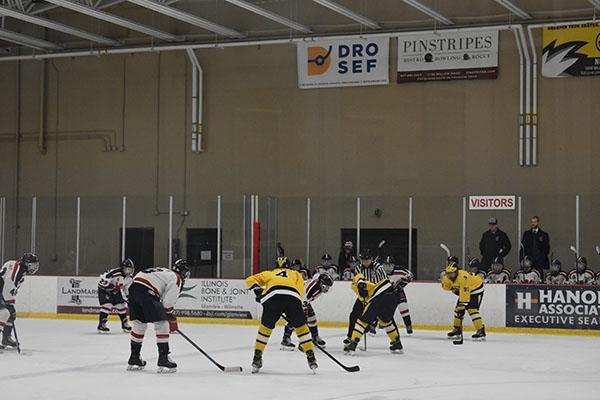 Strong team bonds anchor the success of boys' hockey