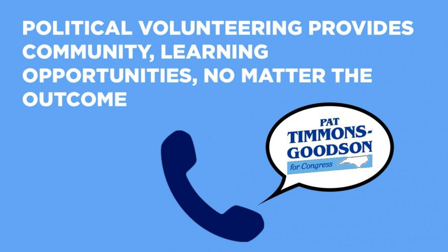 Political+volunteering+provides+community%2C+learning+opportunities%2C+no+matter+the+outcome