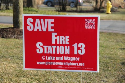 "South community protests the closure of local fire station with ""Save Fire Station 13"""