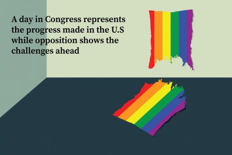 A day in Congress represents the progress made in the U.S while opposition shows the challenges ahead