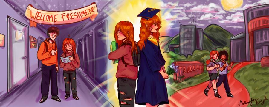 Graduation day incites anxiety, nostalgia