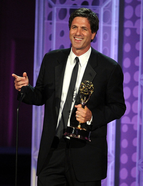 Family Man Levitan: Showcasing an Emmy award for the show he co-created, South alumnus Steven Levitan worked with Christopher Lloyd to develop Modern Family. Photo courtesy of Steven Levitan